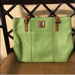 Used Dooney and Burke tote.